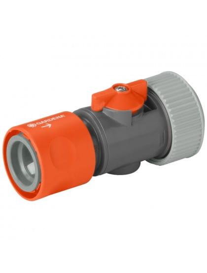 Коннектор Gardena с регулятором 19 мм (3/4)