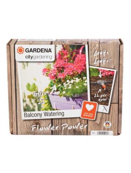 Комплект микрокапельного полива для горшечных растений Gardena