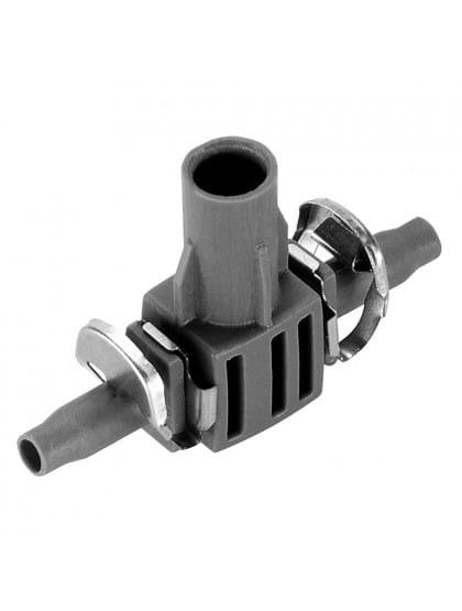 Соединитель T-образный для микронасадок Gardena 4.6 мм (3/16) (5шт. в блистере)
