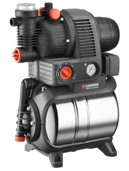 Станция бытового водоснабжения автоматическая Gardena 5000/5 eco Premium inox