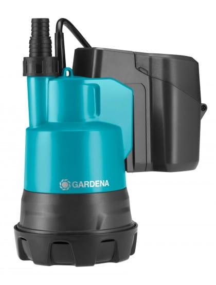 Насос дренажный для чистой воды аккумуляторный Gardena 2000/2 Li-18
