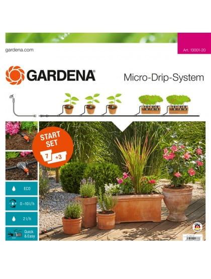 Комплект микрокапельного полива базовый Gardena