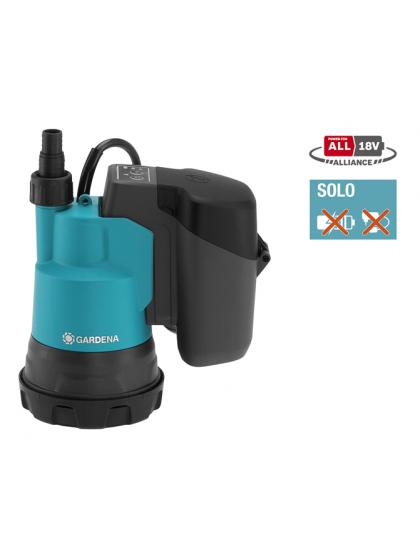 Насос дренажный для чистой воды Gardena 2000/2 18V P4A без аккумулятора