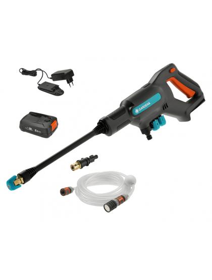 Мойка высокого давления аккумуляторная Gardena AquaClean 24/18V с аккумулятором