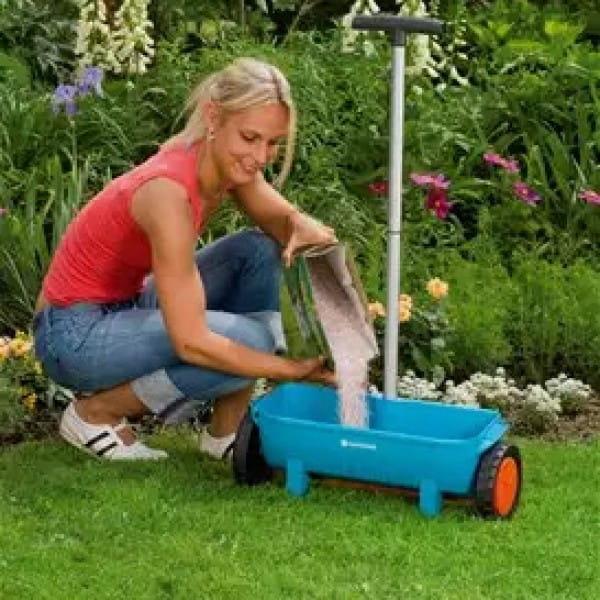 Разбрасыватели сеялки для травы
