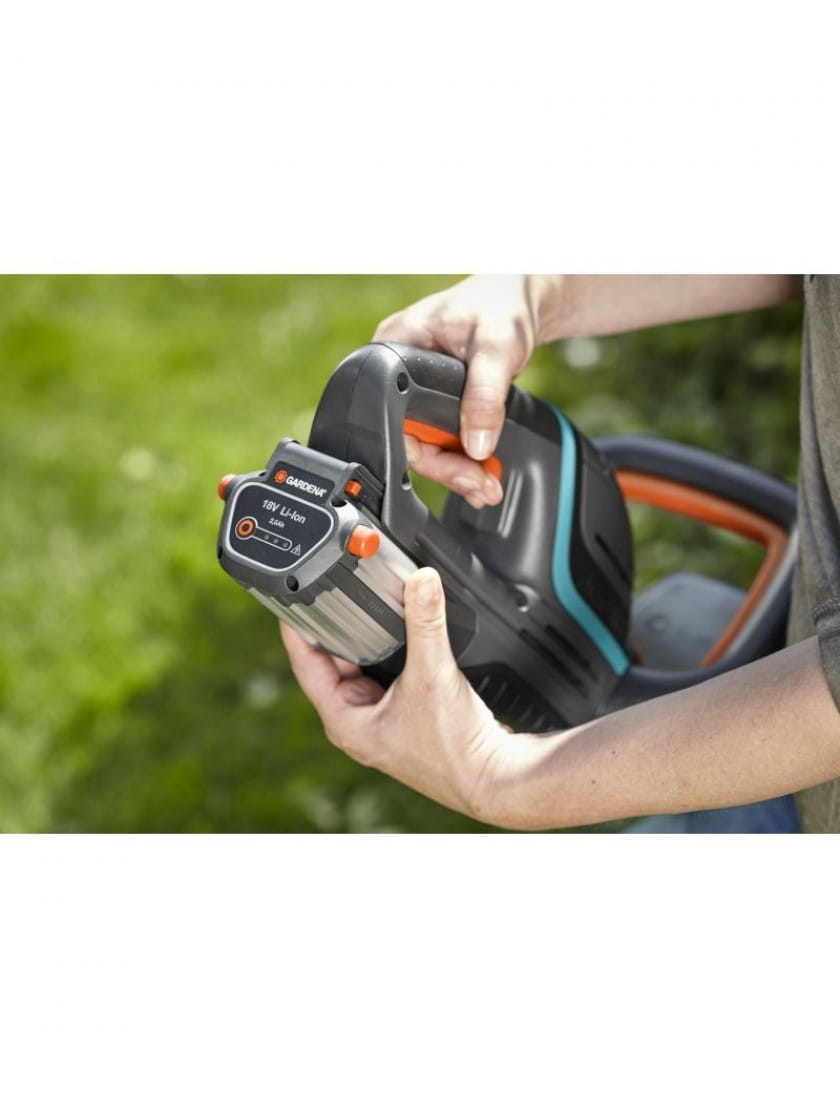 Ножницы для живой изгороди аккумуляторные Gardena ComfortCut Li-18/50 без аккумулятора