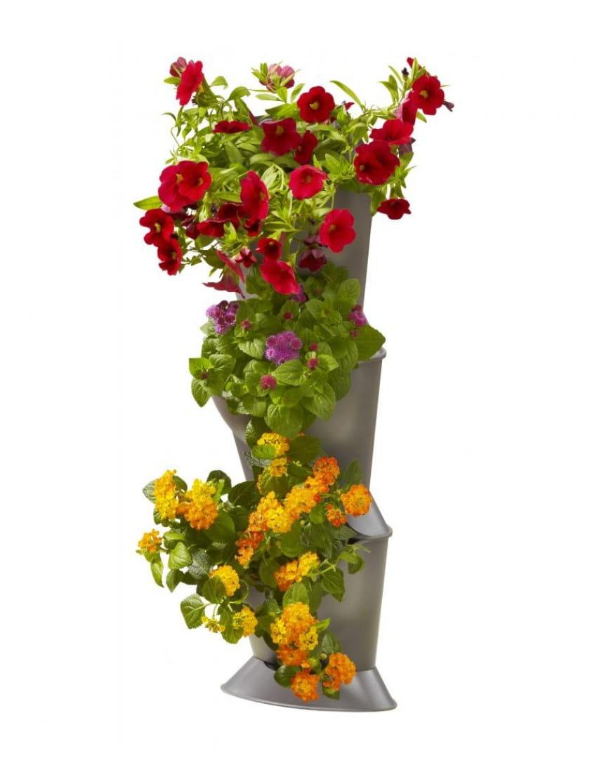 Базовый модуль  для вертикального садоводства угловой Gardena