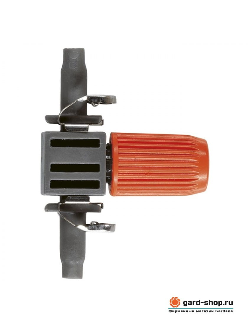 Капельница внутренняя регулируемая Gardena 0-10 л/ч (10 шт. в блистере)