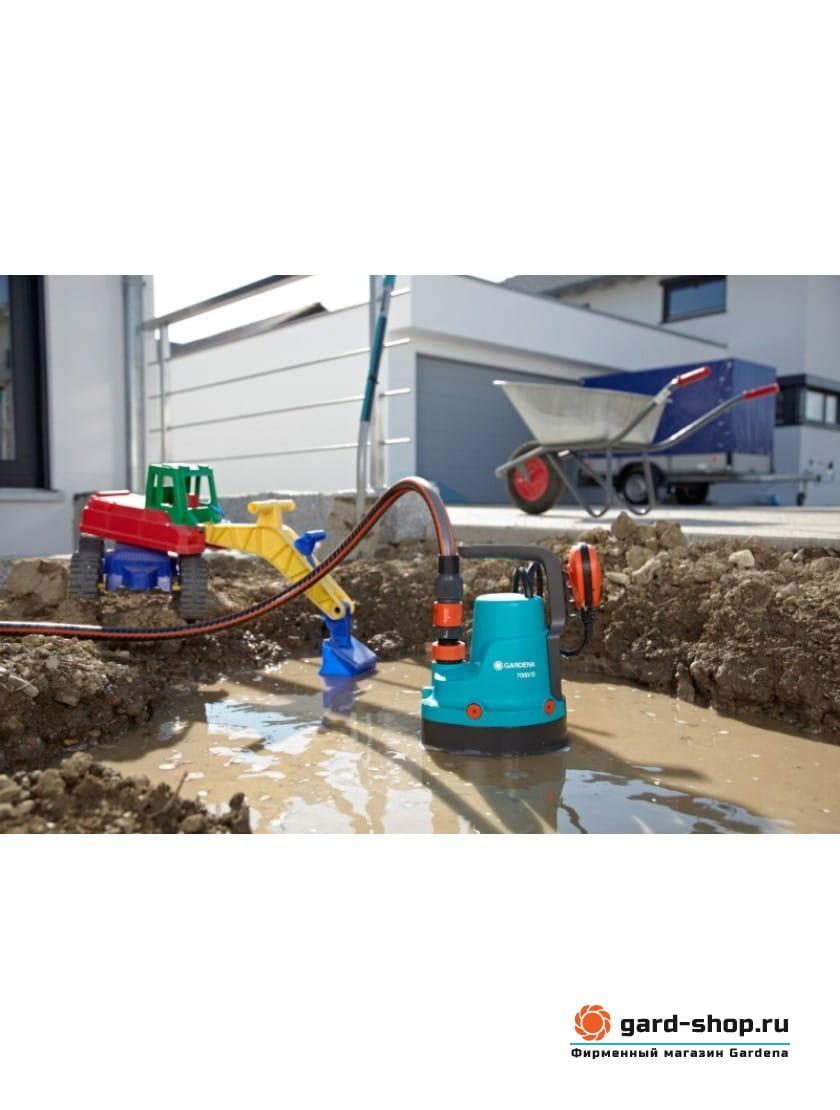 Насос дренажный для грязной воды Gardena 7000/D