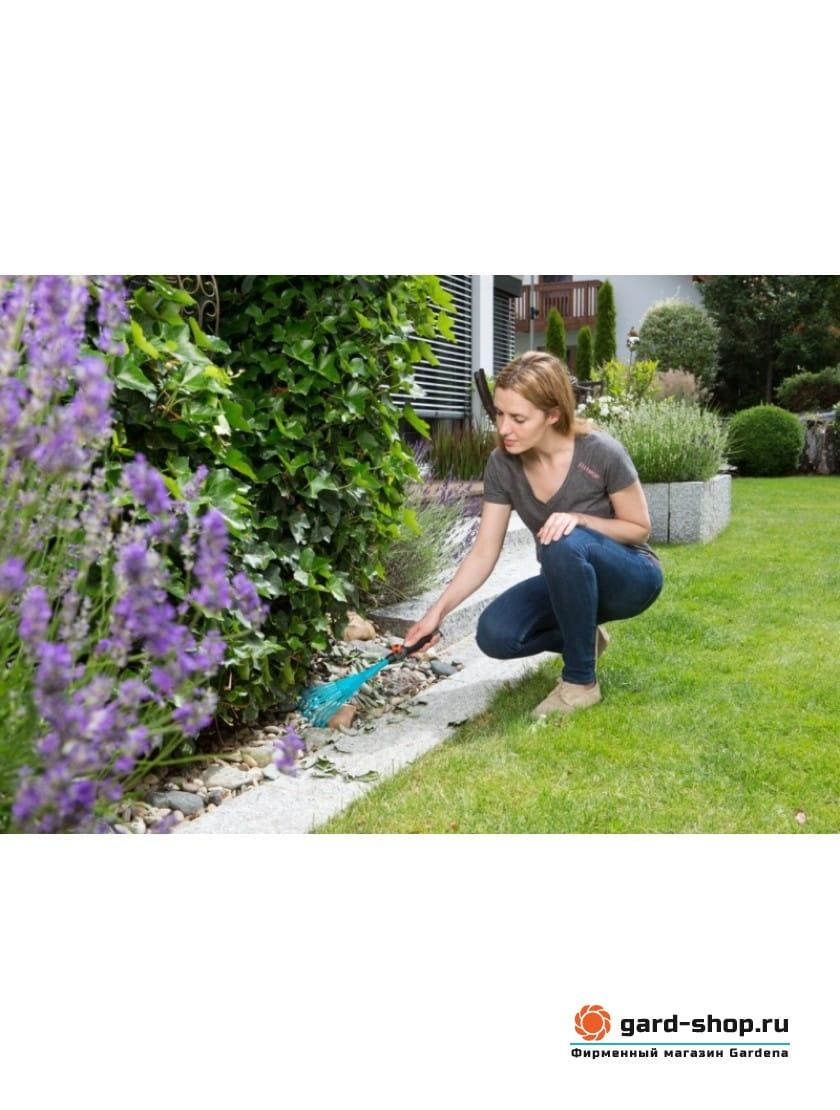 Грабли ручные 12 см Gardena (насадка комбисистемы)