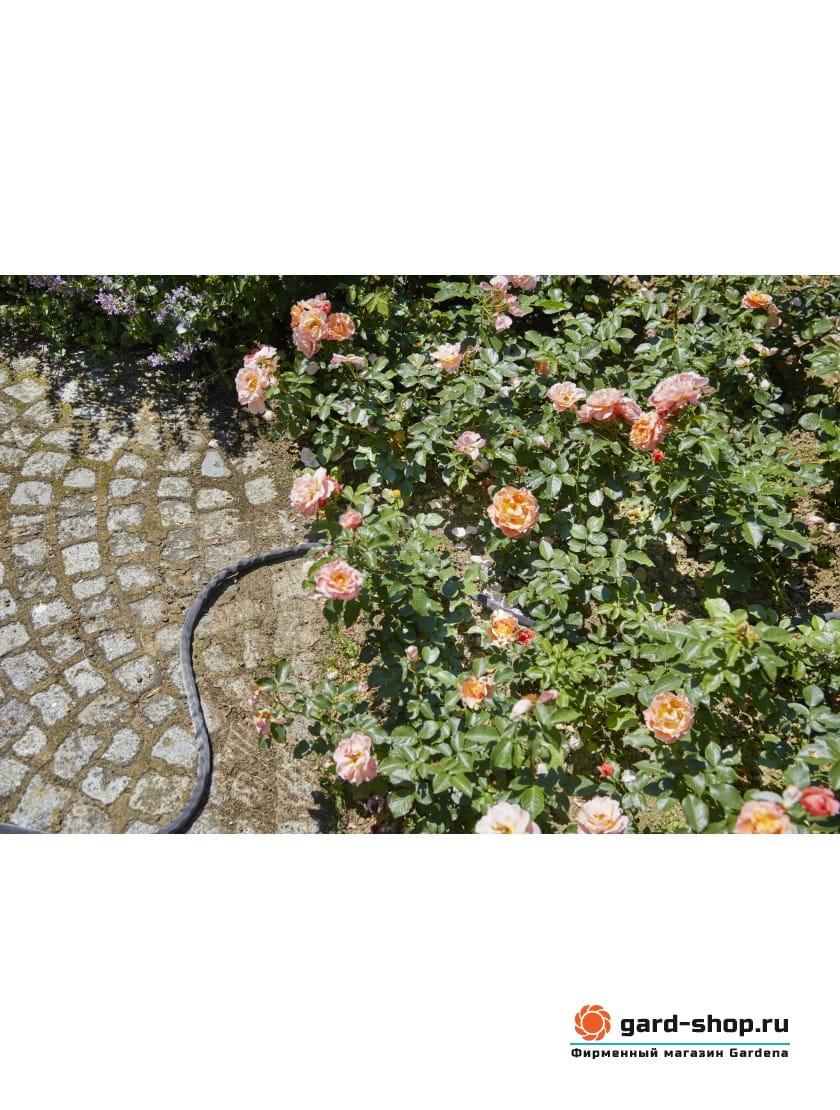 Комплект с текстильным шлангом Gardena Liano 15 м