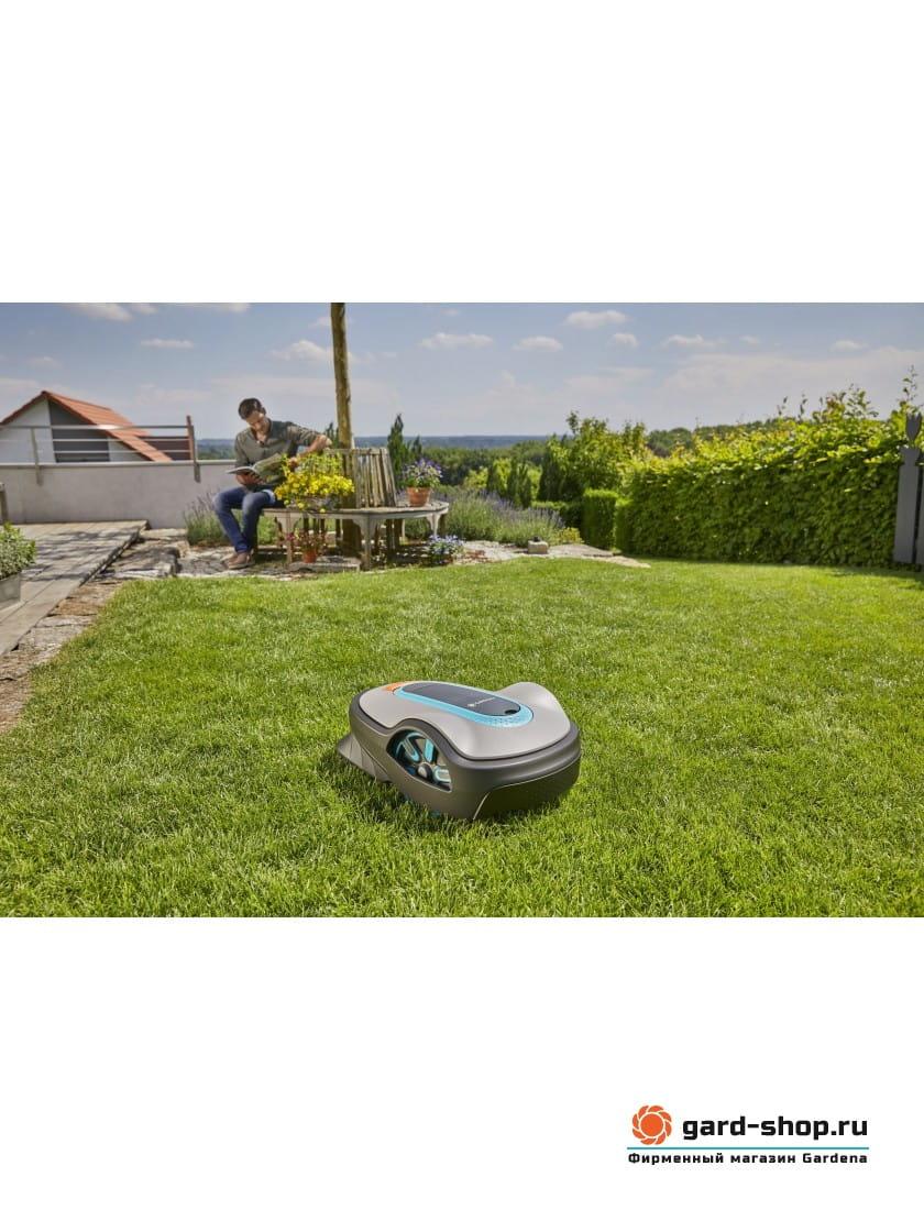 Газонокосилка-робот Gardena SILENO life 1000
