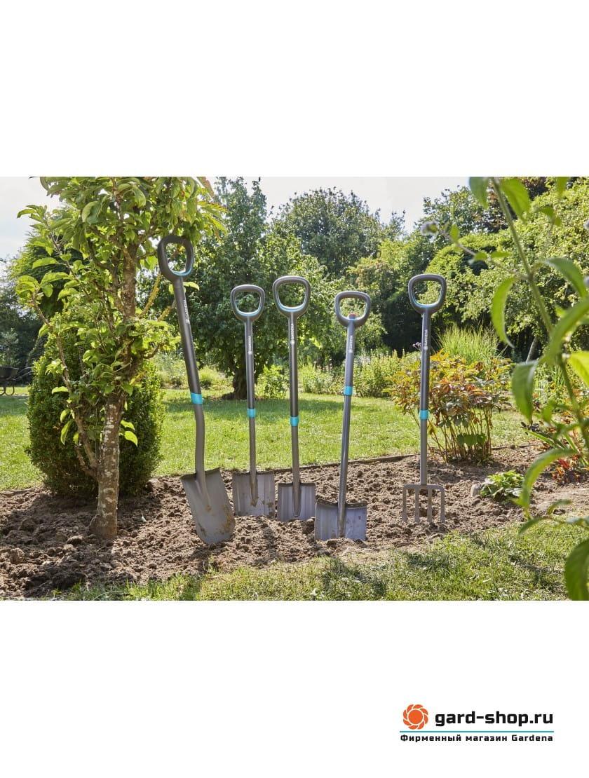 Лопата садовая телескопическая Gardena ErgoLine