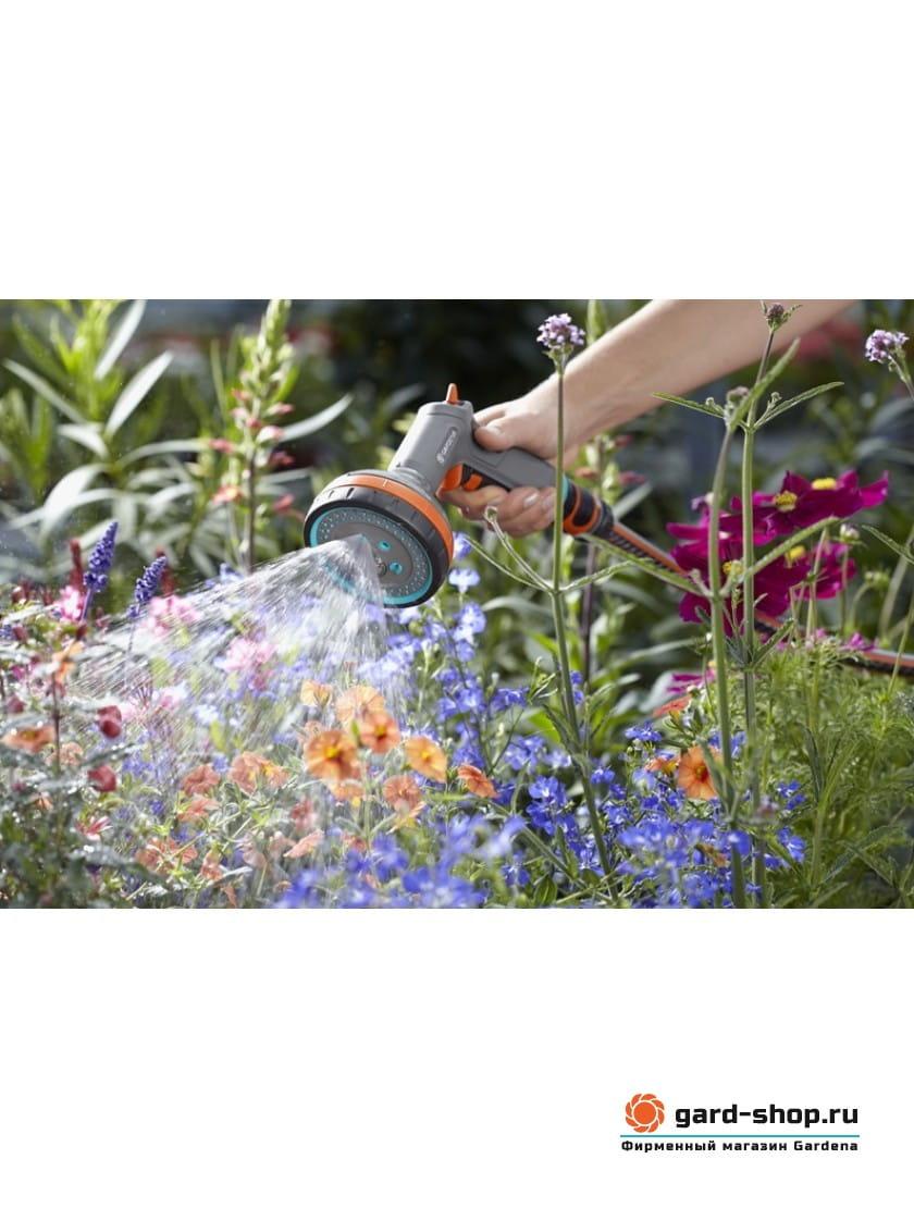 Пистолет-распылитель для полива многофункциональный Gardena Comfort 18315