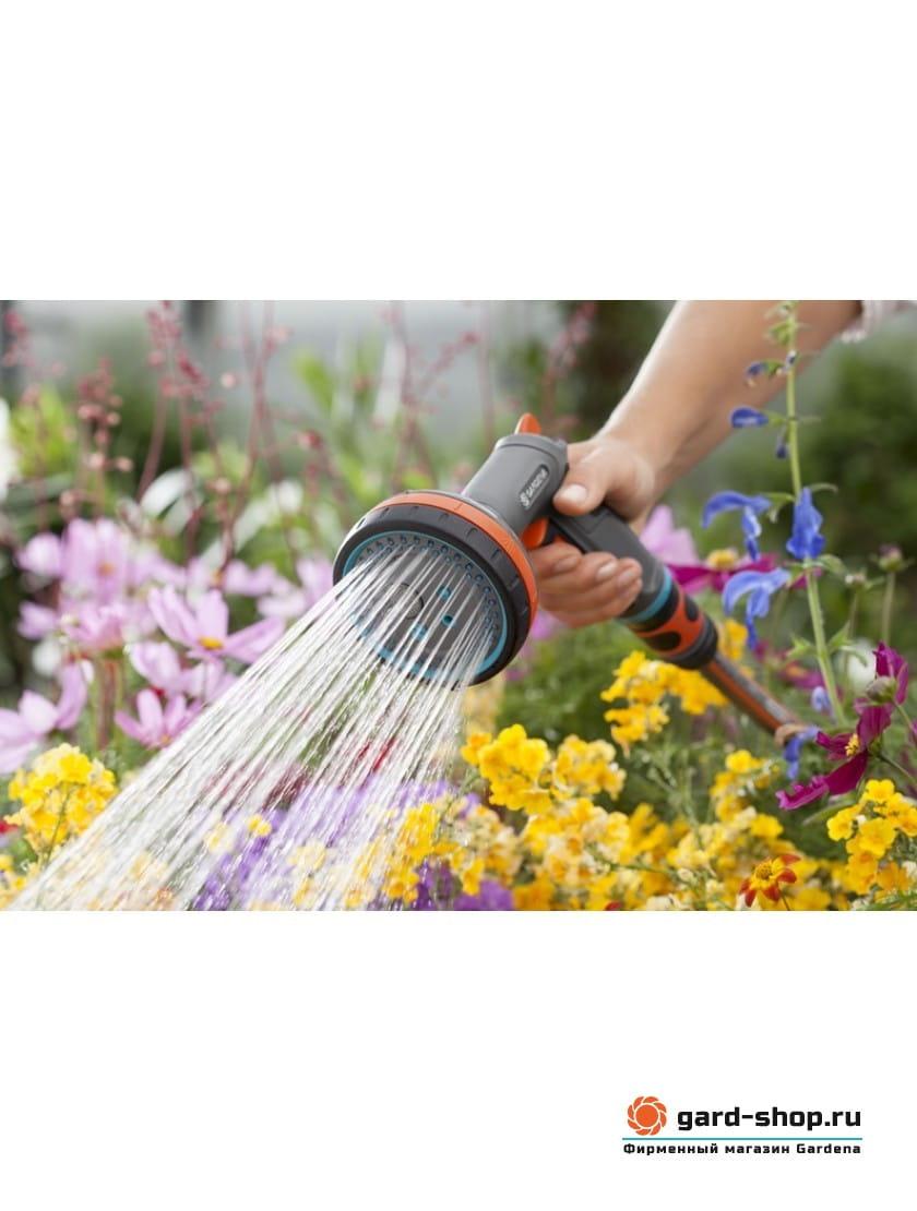 Пистолет-распылитель для полива многофункциональный Gardena Comfort
