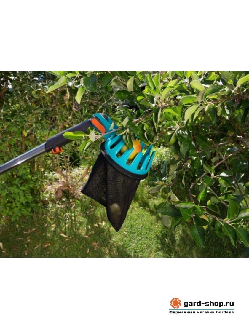 Плодосъемник Gardena с телескопической рукояткой