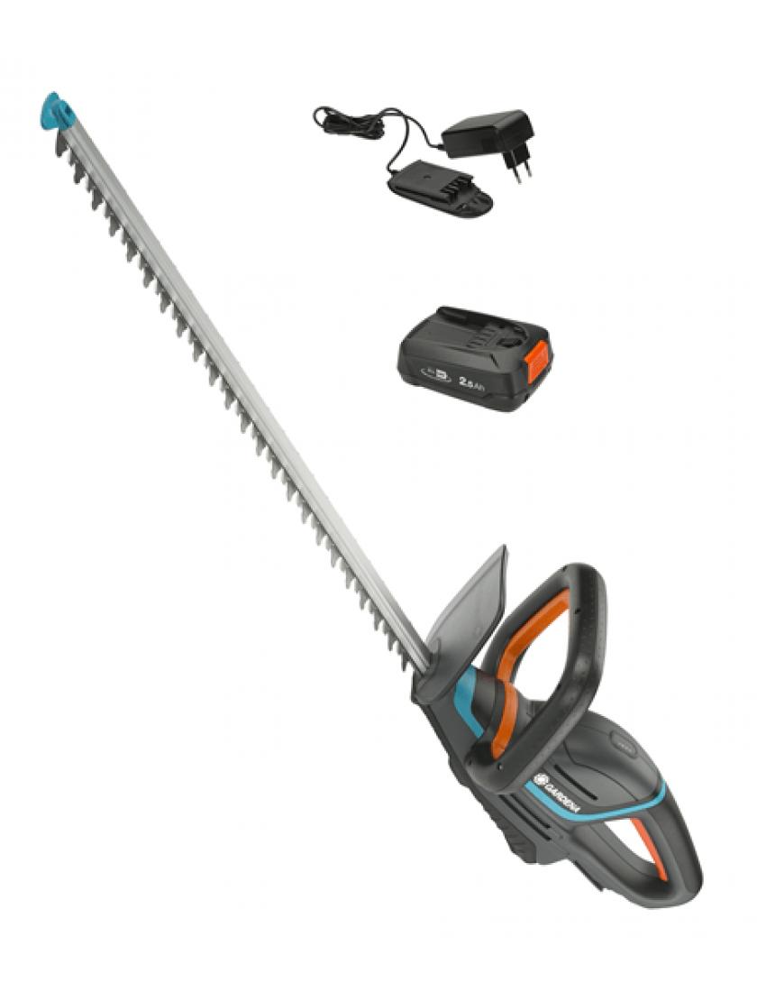 Ножницы для живой изгороди аккумуляторные Gardena ComfortCut 60/18V P4A с аккумулятором