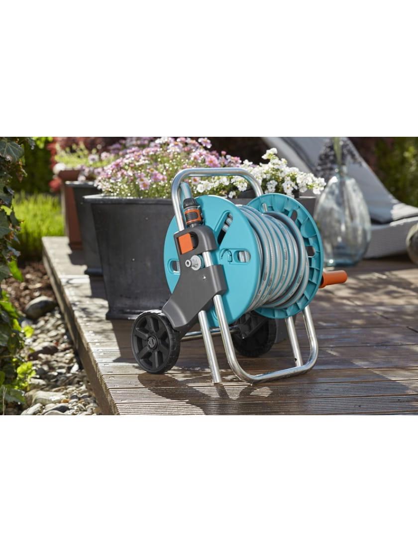 Тележка Gardena AquaRoll S с комплектом для полива