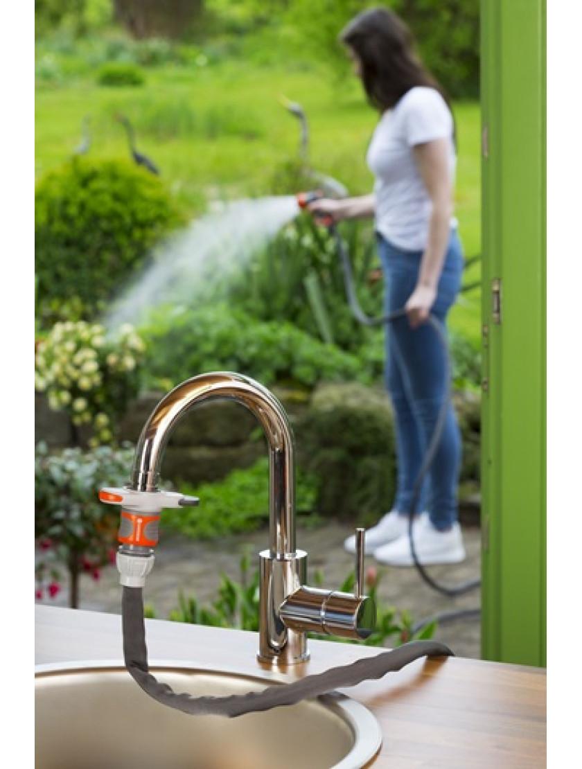 Штуцер Gardena для подключения к водопроводным кранам