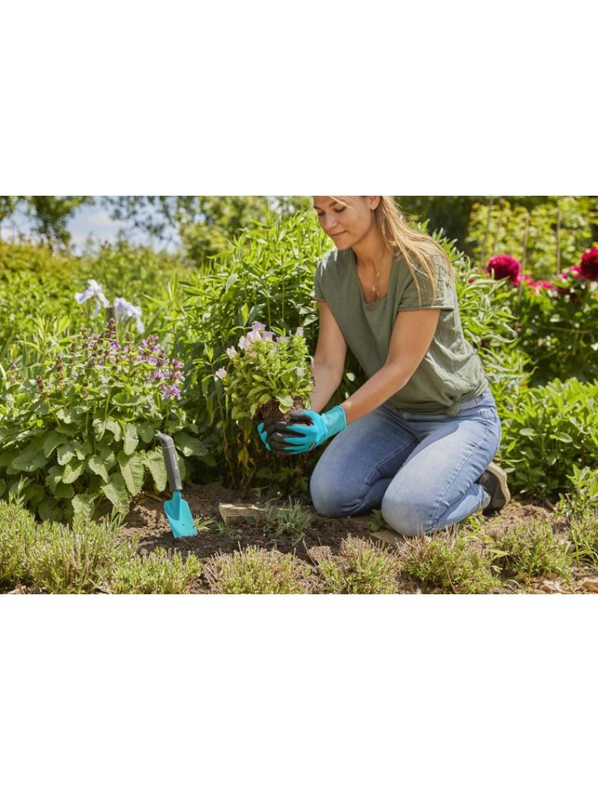 Перчатки для работы с почвой Gardena размер M