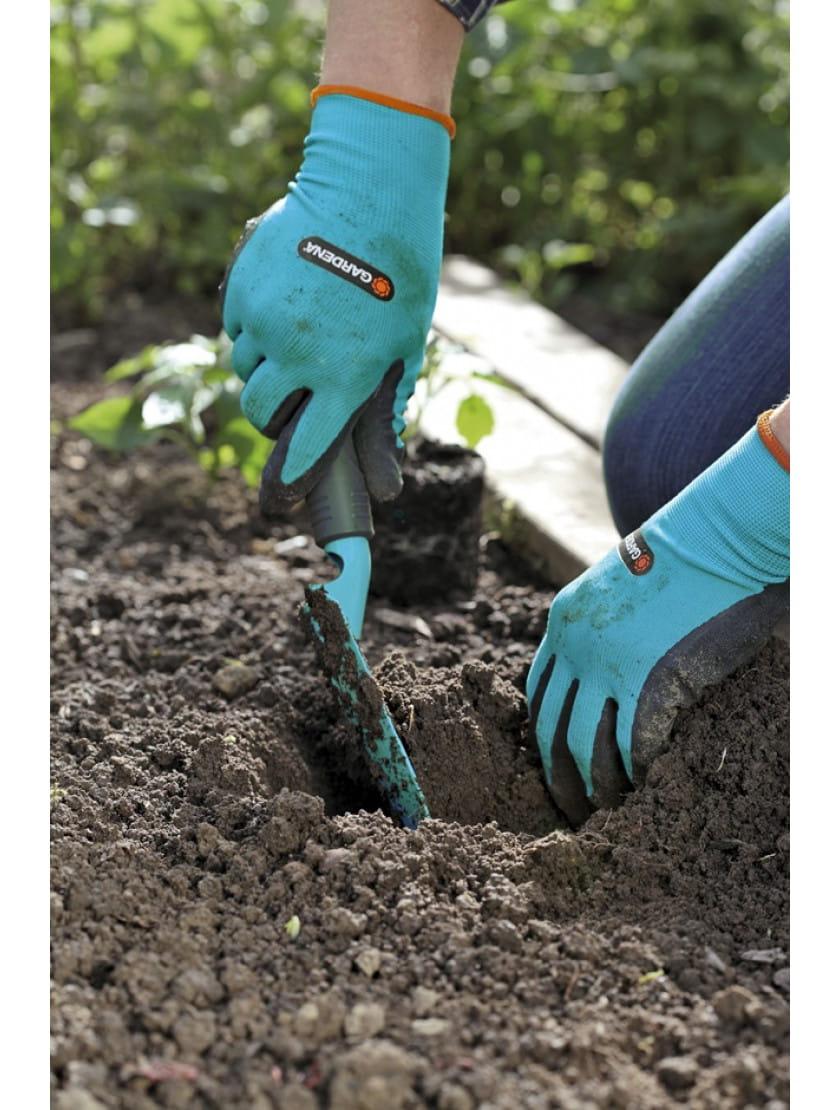 Перчатки для работы с почвой Gardena размер 7