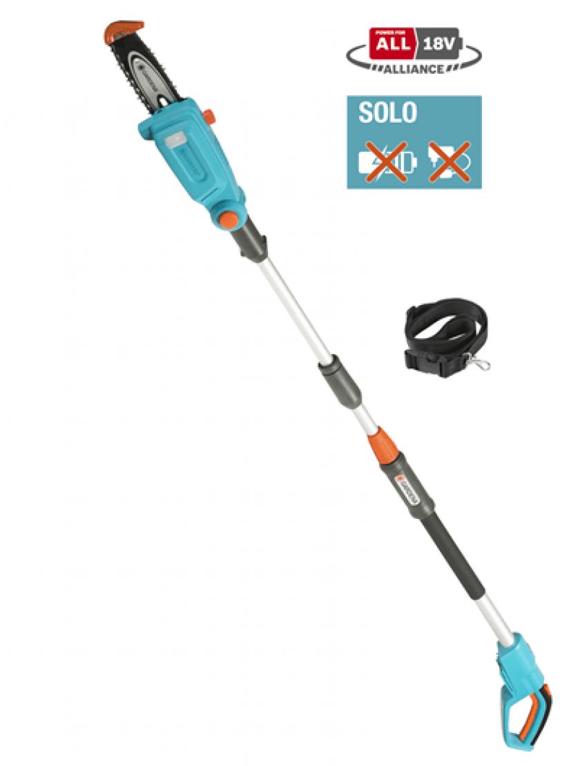 Телескопические ножницы для живой изгороди аккумуляторные Gardena THS 20/18V без аккумулятора