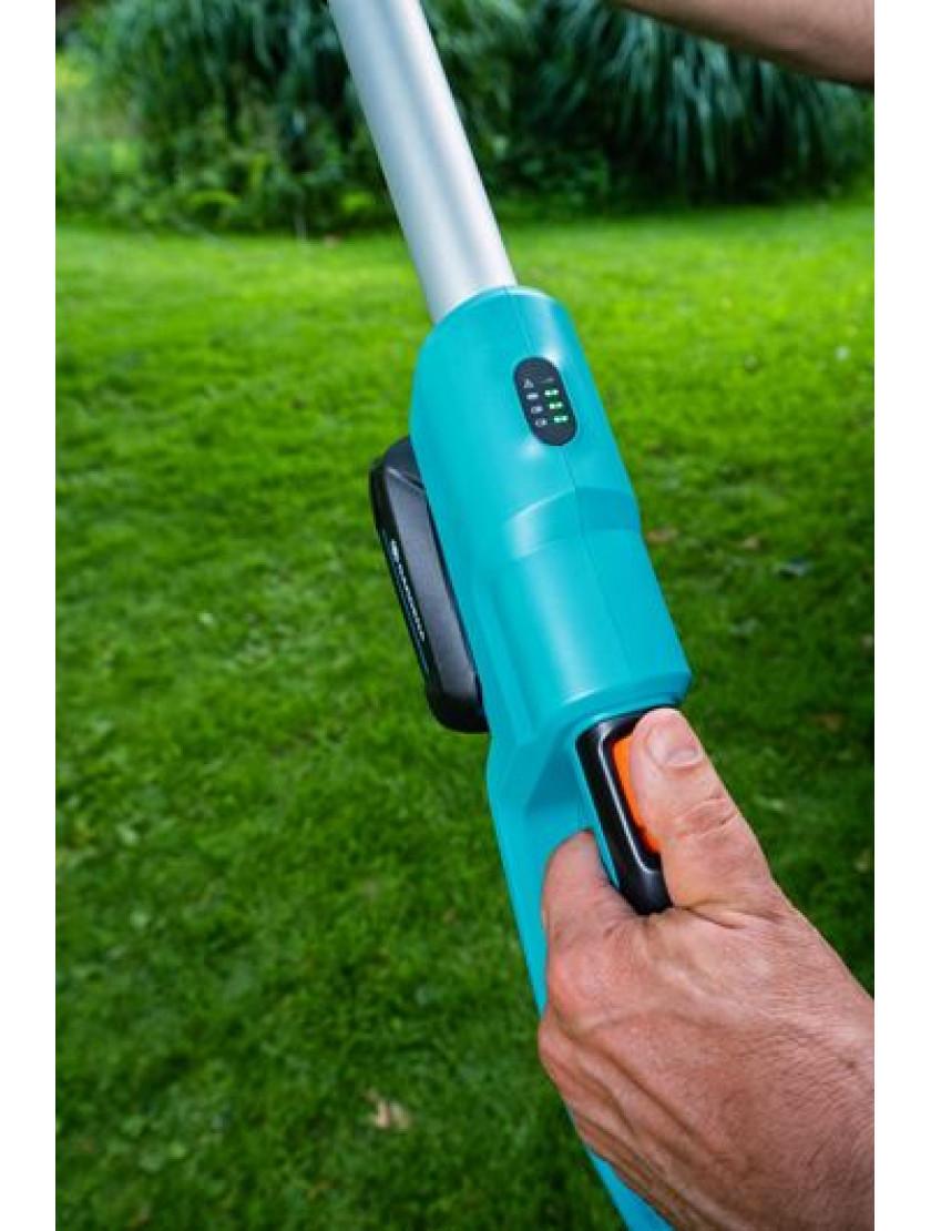 Телескопические ножницы для живой изгороди аккумуляторные Gardena THS 42/18V с аккумулятором